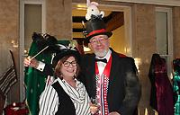 NWA Democrat-Gazette/CARIN SCHOPPMEYER <br /> Terry Martin and James White<br /> Eureka Springs School of the Arts Mad Hatter Ball<br /> Oct. 18, 2019