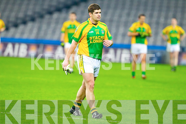 Eamon Fitzmaurice Finuge dejected after being defeated by Cookstown Fr Rocks Tyrone in the All Ireland Intermediate Final at Croke Park on Saturday.