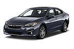 2017 Subaru Impreza 2.0i-Limited-CVT-PZEV 4 Door Sedan Angular Front stock photos of front three quarter view