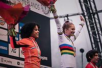 Evie Richards (GBR/TrekFactoryRacing) is the Women's U23 World Champion<br /> <br /> UCI CX Worlds 2018<br /> Valkenburg - The Netherlands