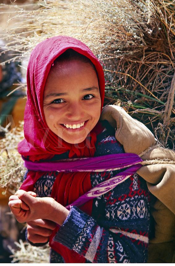 Girl, Morocco