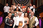 Members of the Muse Productions Musical Society in Shannon, County Clare including Chris Willetts,   who won Best Actor / Sullivan Section for his performance as 'Cervantes /Quixote in 'Man of La Mancha'' pictured at the Association of Irish Musical Societies annual awards in the INEC, KIllarney at the weekend.<br /> Photo: Don MacMonagle -macmonagle.com<br /> <br /> <br /> <br /> repro free photo from AIMS<br /> Further Information:<br /> Kate Furlong AIMS PRO kate.furlong84@gmail.com