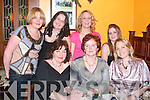 PHOTO CALL: Taking time for a photo at Leen's Hotel, Abbeyfeale for Women's Christmas on Saturday night were front l-r: Nora Quille, Brigid and Maria Woulfe. Back l-r: Emer O'Connor, Lisa Quille, Oonagh Ward and Suzanne Quille.   Copyright Kerry's Eye 2008
