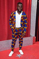 Michael Fatogun<br /> arriving for the British Soap Awards 2018 at the Hackney Empire, London<br /> <br /> ©Ash Knotek  D3405  02/06/2018