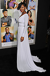 """HOLLYWOOD, CA - FEBRUARY 09: Meagan Good arrives at the """"Think Like A Man"""" Los Angeles Premiere at the ArcLight Cinemas Cinerama Dome on February 9, 2012 in Hollywood, California."""