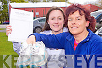 FUNDRAISER: Listowel friends Naomi O'Quigley and Christine Buckley who are to run in a number of upcoming marathons in aid of the stroke unit at Kerry General Hospital.