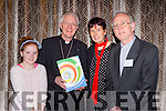 DIOCESAN PLAN: Meabh Kieran McDonagh, Bishop Ray Browne, Dr Patricia Kieran, and Fr Ger Godley, pictured at the launch of the Kerry Diocesan Plan, at the Malton Hotel, Killarney on Monday evening last.