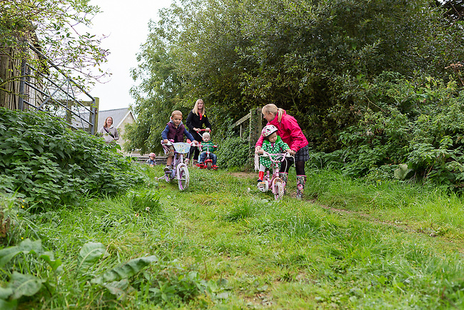 Gallery of photos taken during the Isle of Wight Cycling Festival on 2014-09-26 . Ride Number 48,  Tiny Tots Cycle Adventure<br />