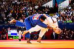 Engeland, London, 2 Augustus 2012.Olympische Spelen London.Judoka Henk Grol wint de tweede ronde van Luciano Correa uit Brazil