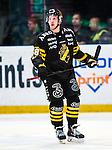 Stockholm 2014-01-18 Ishockey SHL AIK - F&auml;rjestads BK :  <br /> AIK:s Victor Ahlstr&ouml;m <br /> (Foto: Kenta J&ouml;nsson) Nyckelord:  portr&auml;tt portrait