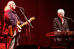 Rock supergroup Crosby, Still & Nash with David Crosby Stephen Stills and Graham Nash continue to tour and play their hits which blend folk, blues and jazz.