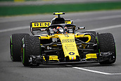 24th March 2018, Melbourne Grand Prix Circuit, Melbourne, Australia; Melbourne Formula One Grand Prix, qualifying; Carlos Sainz of Spain driving the (55) Renault Sport Formula One Team RS18