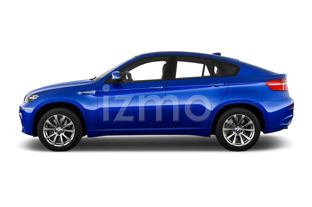 Driver side profile view of a 2013 Bmw X6 M 5 Door Suv 4WD