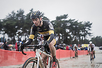 Jim Aernouts (BEL/Telenet-Fidea)<br /> <br /> elite men's race<br /> Krawatencross Lille 2017
