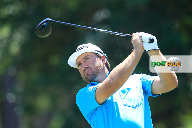 Graeme McDOWELL (NIR) on the 9th during round 3 at The Players, TPC Sawgrass, Ponte Vedra Beach, Florida, United States. 09/05/2015<br /> Picture Fran Caffrey, www.golffile.ie