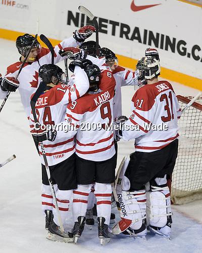 - Team Canada defeated Team Slovakia 8-2 on Tuesday, December 29, 2009, at the Credit Union Centre in Saskatoon, Saskatchewan, during the 2010 World Juniors tournament.