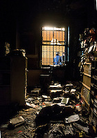 Arson attack on Freedom Bookshop in East London. 1-2-13 The anarchist bookshop was firebombed in the early hours of Feb 1st. The attacker broke a window and poured accelerant through into the bookshop before lighting it and partially destroying one corner of the interior.