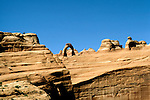 UT: Utah; Arches National Park, Delicate Arch               .Photo Copyright: Lee Foster, lee@fostertravel.com, www.fostertravel.com, (510) 549-2202.Image: utarch223.