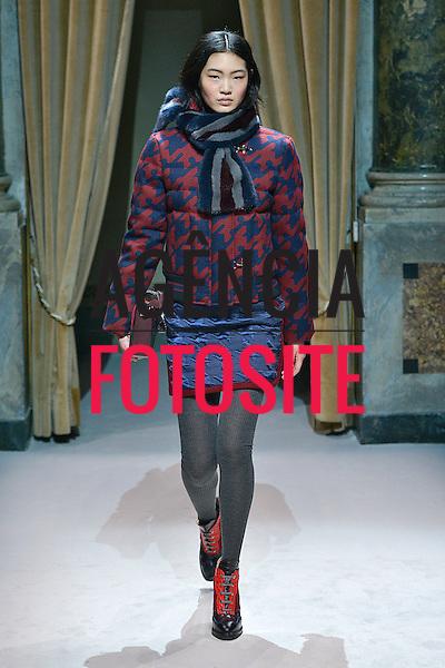 Milao, Italia &ndash; 02/2014 - Desfile de Fay durante a Semana de moda de Milao - Inverno 2014. <br /> Foto: FOTOSITE