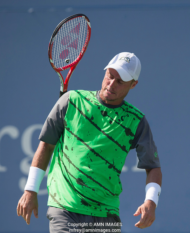 LLEYTON HEWITT (AUS)<br /> The US Open Tennis Championships 2014 - USTA Billie Jean King National Tennis Centre -  Flushing - New York - USA -   ATP - ITF -WTA  2014  - Grand Slam - USA  27th August 2014. <br /> <br /> &copy; AMN IMAGES