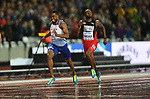 Nethaneel MITCHELL-BLAKE (GBR) in the mens 200m semi-final. IAAF world athletics championships. London Olympic stadium. Queen Elizabeth Olympic park. Stratford. London. UK. 09/08/2017. ~ MANDATORY CREDIT Garry Bowden/SIPPA - NO UNAUTHORISED USE - +44 7837 394578