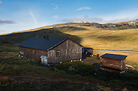 Viterskals hut, Kungsleden trail, Lapland, Sweden