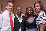 19004Legacy 2008 Recognition & Awards Ceremony in Baker Center 7/31/08: Templeton Scholars, Urban Scholars, and Appalachian Scholars..Nate Boyer, Eudora Peterson, Christine Nwajei, Ugonna Okpalaoka