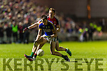 Jack Barry Kerry in action against Donal Vaughan Mayo in the National Football league at Austin Stack Park, Tralee on Saturday night.