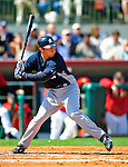 2 March 2009: New York Yankees' infielder Doug Bernier in action during a Spring Training game against the Houston Astros at Osceola County Stadium in Kissimmee, Florida. The teams played to a 5-5, 9-inning tie. Mandatory Photo Credit: Ed Wolfstein Photo