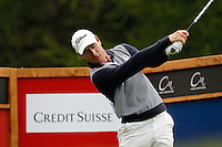 Brett Rumford (AUS) on the 14th during the 1st day of the Omega European Masters, Crans-Sur-Sierre, Crans Montana, Switzerland..Picture: Golffile/Fran Caffrey..