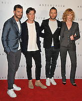Jamie Dornan, Cillian Murphy, Sean Ellis and Anna Geislerova at the &quot;Anthropoid&quot; UK film premiere, BFI Southbank, Belvedere Road, London, England, UK, on Tuesday 30 August 2016.<br /> CAP/CAN<br /> &copy;CAN/Capital Pictures /MediaPunch ***NORTH AND SOUTH AMERICAS ONLY***