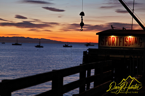 Port San Luis at sunrise, I always visit here to gaze out an remember those of the ashes I have spread here.