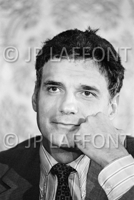 June 1979, Washington, DC, USA --- American lawyer, of Lebanese origin, Ralph Nader during a campaign of the association Public Citizen in support of consumer rights. Nader was also American presidential candidate of the Green Party in 1996 and 2000. --- Image by © JP Laffont
