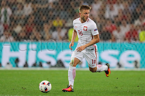 30.06.2016. Marseille, France. UEFA EURO 2016 quarter final match between Poland and Portugal at the Stade Velodrome in Marseille, France, 30 June 2016.   Jakub Blaszczykowski (POL)