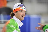 SPEEDSKATING: SOCHI: Adler Arena, 20-03-2013, Training, Bob de Jong (NED), © Martin de Jong
