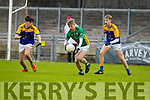 CBS the Green in action against  The Sem in the Corn an Bhráthair Choilm Taft at Austin Stack Park in Tralee, Kerry.