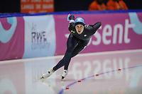 SCHAATSEN: HEERENVEEN: Thialf, World Cup, 02-12-11, 500m B, Matt Plummer USA, ©foto: Martin de Jong