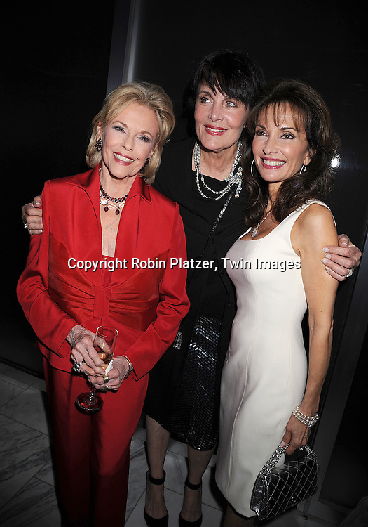 "Eileen Fulton, Linda Dano and Susan Lucci..posing for photographers at The ""Bideawee Ball: For The Love of Pets"" Gala on  May 6, 2008 at Espace at The Atelier in New York City. ....Robin Platzer, Twin Images"