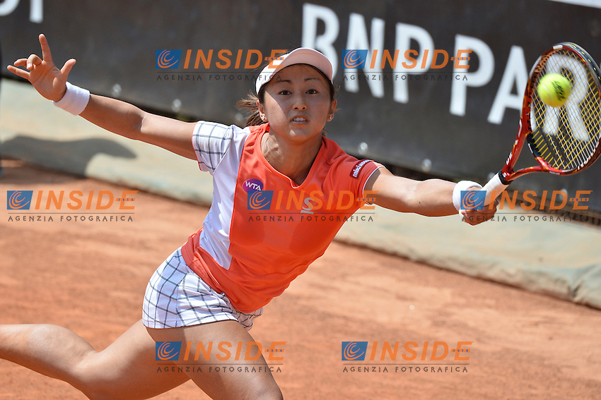 Misaki Doi (JPN)<br /> Roma 9-05-2016  Foro Italico<br /> Internazionali BNL d'Italia, <br /> Tennis WTA<br /> Foto Antonietta Baldassarre / Insidefoto