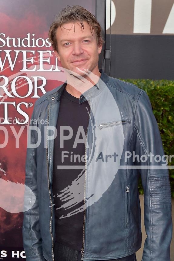 Matt Passmore bei der Eröffnung der 'Halloween Horror Nights' in den Universal Studios. Universal City, 15.09.2017