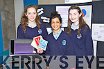 Pictured at the Student Enterprise Awards day at Tralee IT on Wednesday were students from Pres Castlisland Ciara Murphy, Aoife Walsh and Michelle O'Connor.