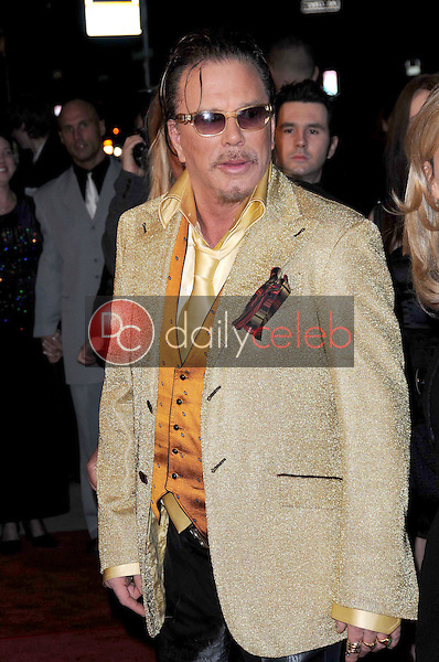 Mickey Rourke <br /> at the Los Angeles Premiere of 'The Wrestler'. The Academy Of Motion Arts &amp; Sciences, Los Angeles, CA. 12-16-08<br /> Dave Edwards/DailyCeleb.com 818-249-4998