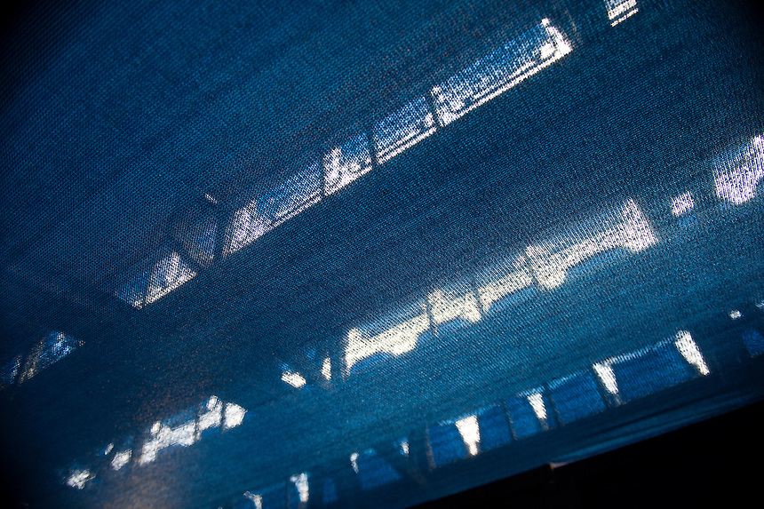 A shot of the underside of the seats at Queen's Club, London from the covered tunnel<br /> <br /> Photographer Ashley Western/CameraSport<br /> <br /> Tennis - ATP 500 World Tour - AEGON Championships- Day 5 - Friday 19th June 2015 - Queen's Club - London <br /> <br /> &copy; CameraSport - 43 Linden Ave. Countesthorpe. Leicester. England. LE8 5PG - Tel: +44 (0) 116 277 4147 - admin@camerasport.com - www.camerasport.com