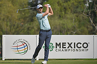 Kyle Stanley (USA) watches his tee shot on 18 during round 2 of the World Golf Championships, Mexico, Club De Golf Chapultepec, Mexico City, Mexico. 3/2/2018.<br /> Picture: Golffile | Ken Murray<br /> <br /> <br /> All photo usage must carry mandatory copyright credit (&copy; Golffile | Ken Murray)