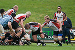 Grant Henson breaks from the back of a ruck. Air New Zealand Cup pre-season rugby game between the Counties Manukau Steelers & Northland, played at Growers Stadium on July 21st, 2007. Counties Manukau won 28 - 17.