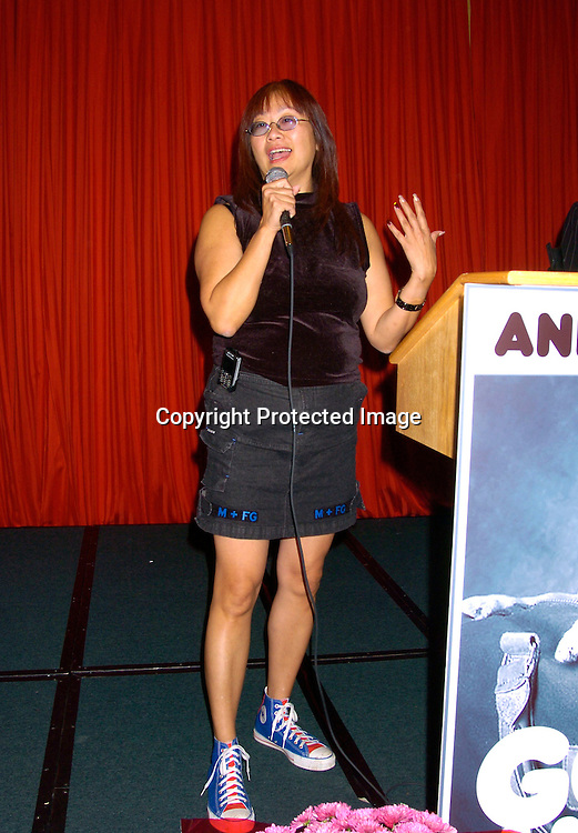 "May Pang ..at the  37th Annual  ""Going Home""  Luncheon for Animal Haven on October 17, 2004 at the Sheraton LaGuardia East...Photo by Robin Platzer, Twin Images"