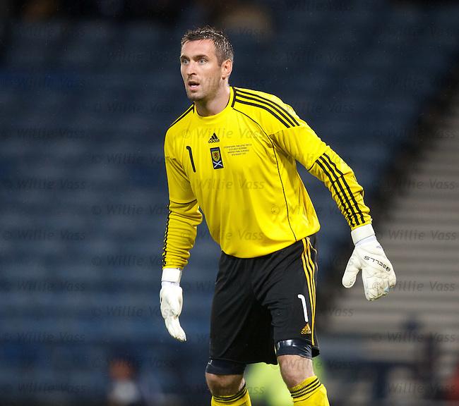 Allan McGregor, Scotland