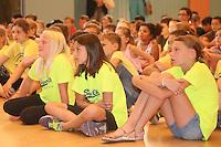 Viertklässler der Lindenschule folgen dem Programm der Verabschiedung