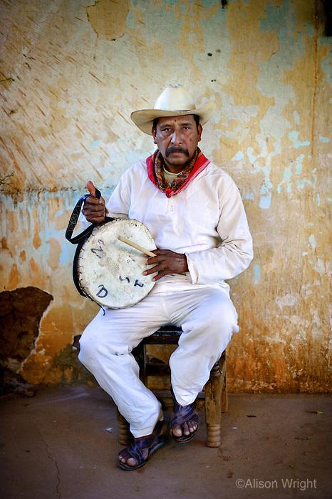 Dancer and musician Mazatlan, Mexico, 2009