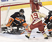 Eric Leroux, Ryan Dingle - The Princeton University Tigers defeated the University of Denver Pioneers 4-1 in their first game of the Denver Cup on Friday, December 30, 2005 at Magness Arena in Denver, CO.